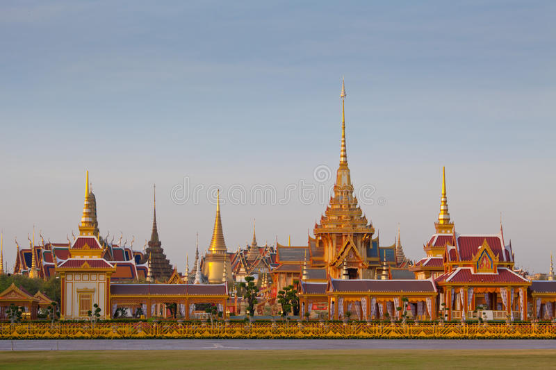 Thai royal funeral and Temple