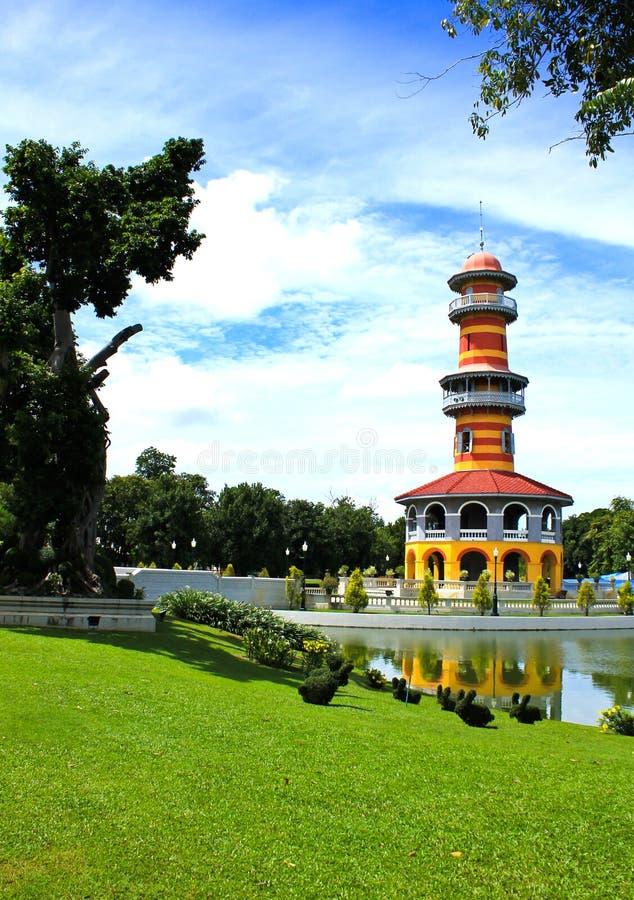 Thai Royal Residence At Bang Pa-In Royal Palace Stock Photos