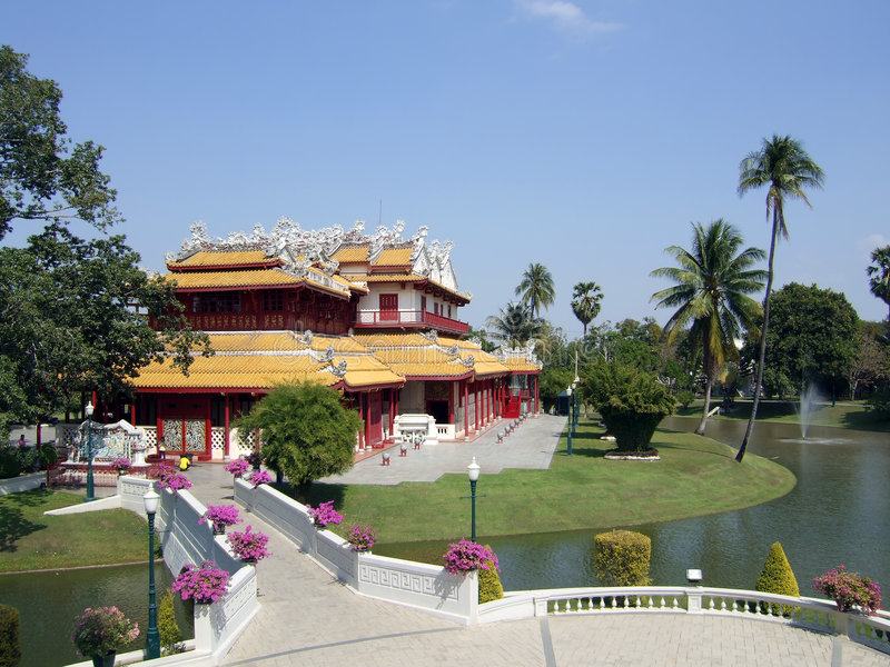 Download Thai Royal Summer Palace stock photo. Image of east, residence - 2956738