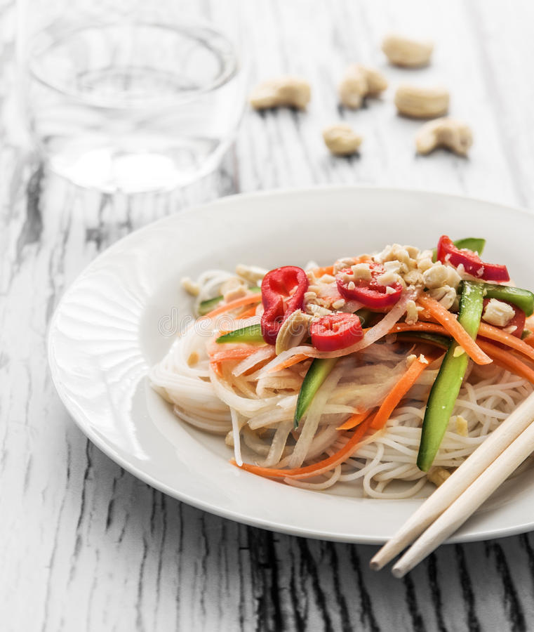Thai salad royalty free stock photo