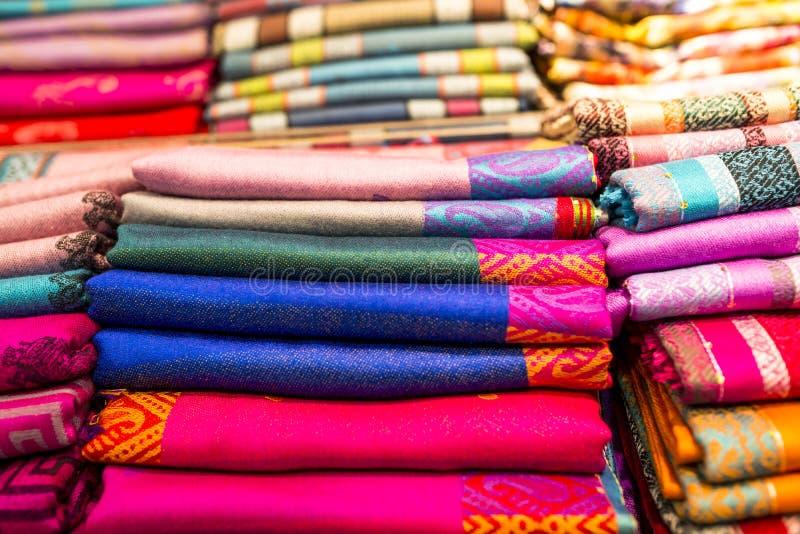 thai sarong royaltyfri foto