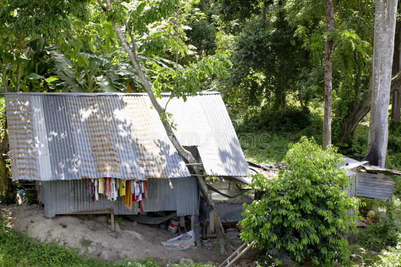 Download Thai Shanty Dwelling editorial stock image. Image of building - 20049169