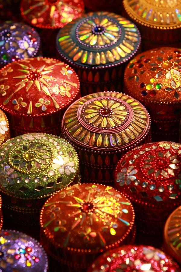 Download Thai Silk box stock image. Image of thailand, colour - 15094151