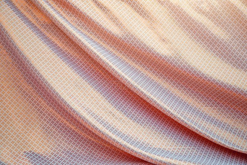 Thai silk fabric texture background. royalty free stock photography
