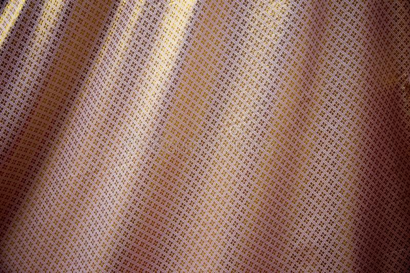 Thai silk fabric texture background. royalty free stock images