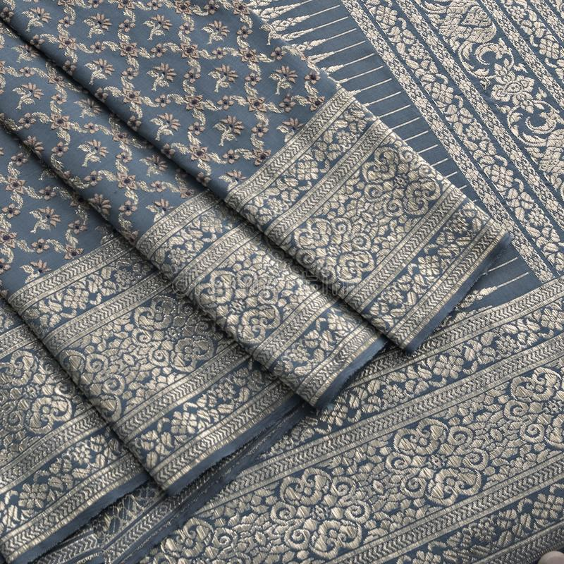 Thai silk pattern, design, texture, thread, cocoon, tool and equipment. Close up the thai silk pattern, design, texture, thread, cocoon, tool and equipment stock images