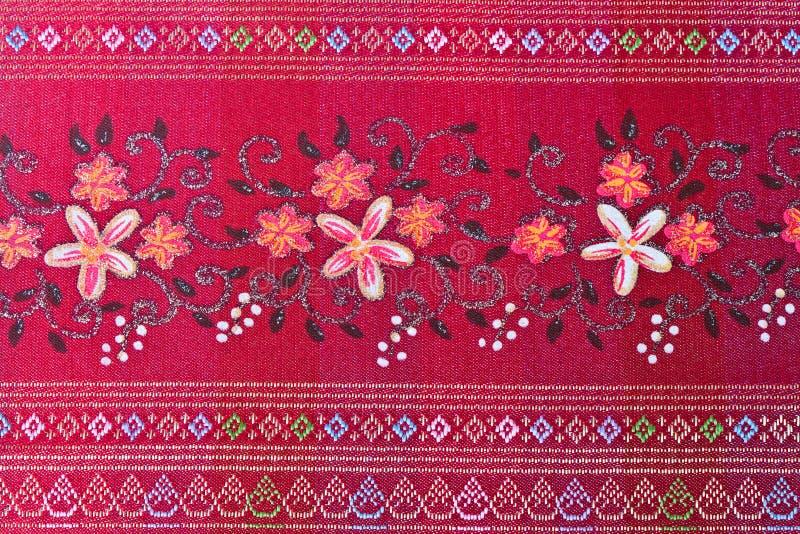 Download Thai silk red. stock photo. Image of thai, exquisite - 22659302