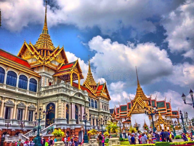 thai slott arkivfoton