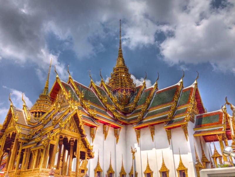 thai slott royaltyfri foto