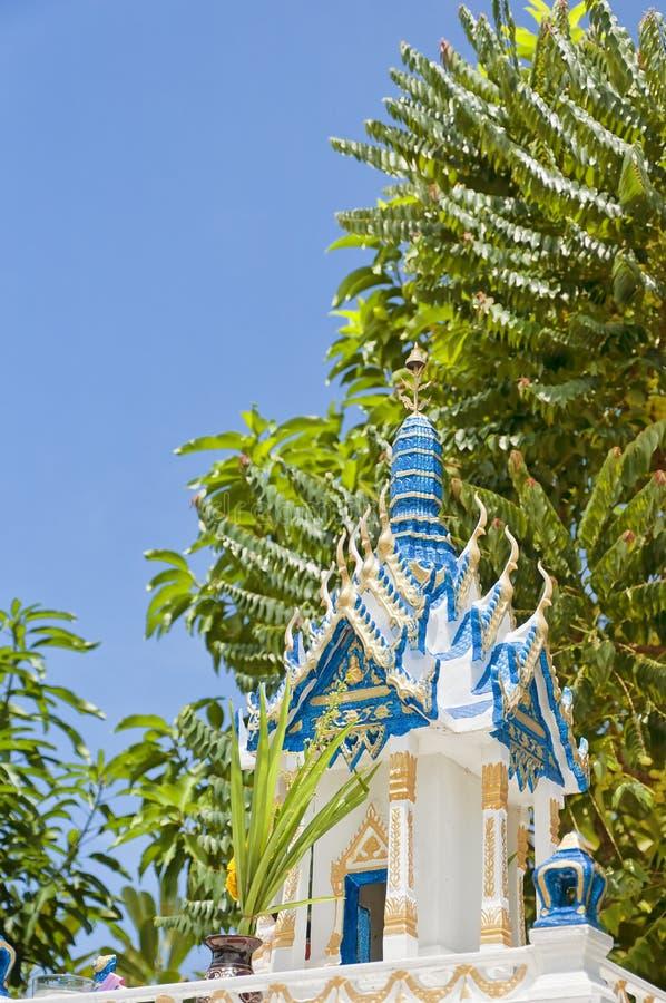 Thai Spirit House 04 Royalty Free Stock Images