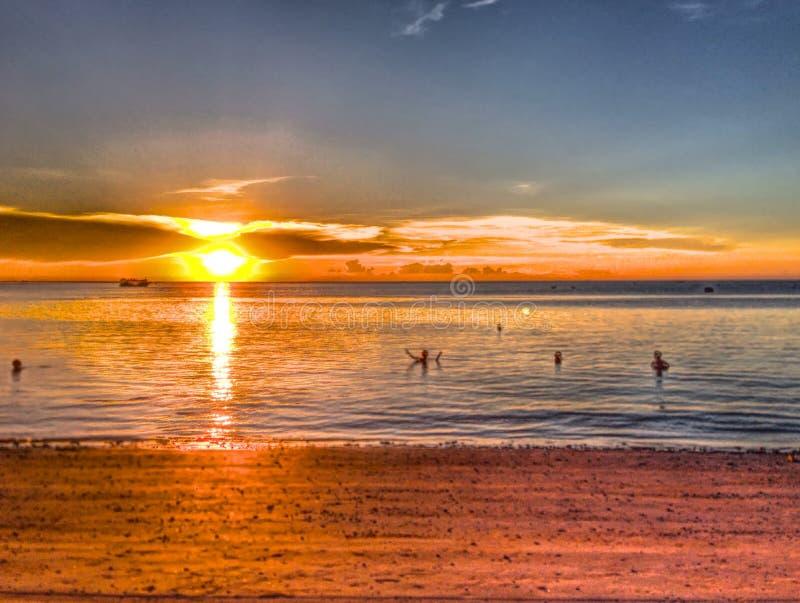 thai strand fotografering för bildbyråer
