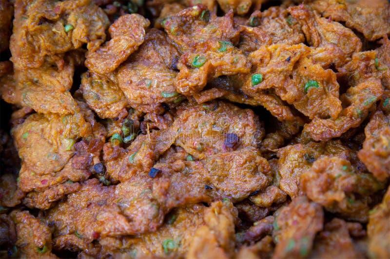 Thai Street Local Food,fried fish Cake stock photo
