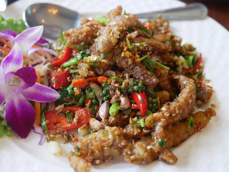 Thai style dish royalty free stock image
