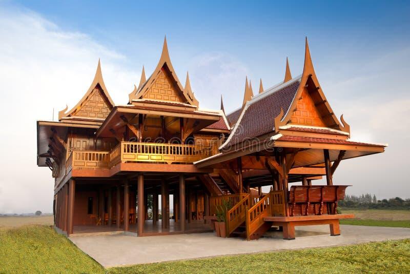 Thai Style House royalty free stock image