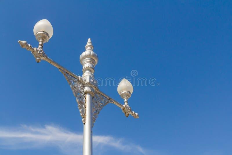 Thai Style light pole stock photography