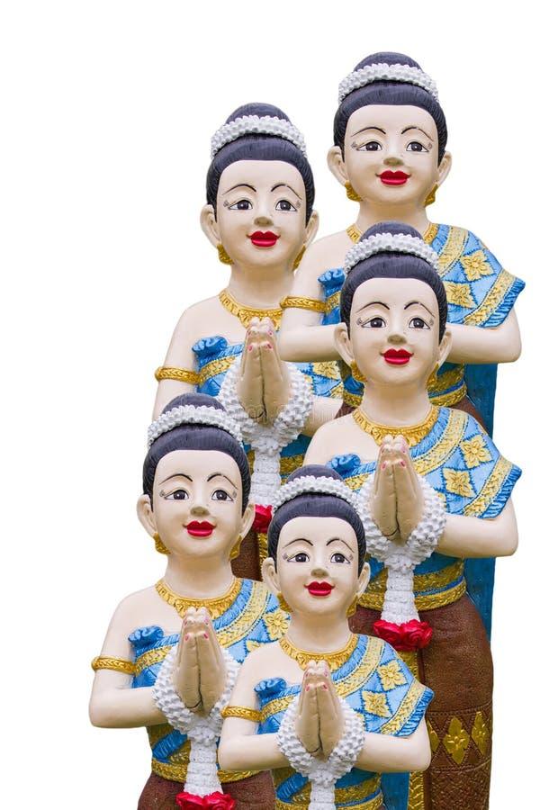 Download Thai style molding art stock photo. Image of fairy, sculpture - 26231462