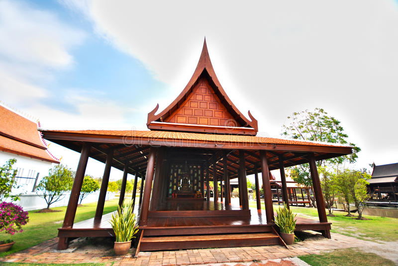 The Thai style pavilion