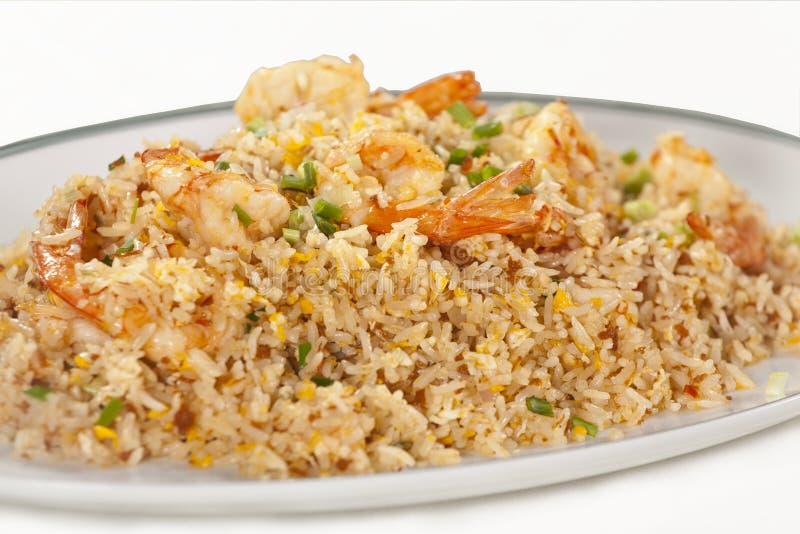 Shrimp Fried Rice Royalty Free Stock Image