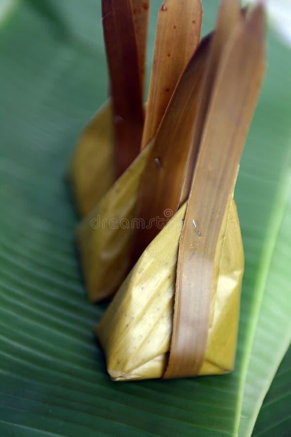 Thai style sweet desserts royalty free stock photos
