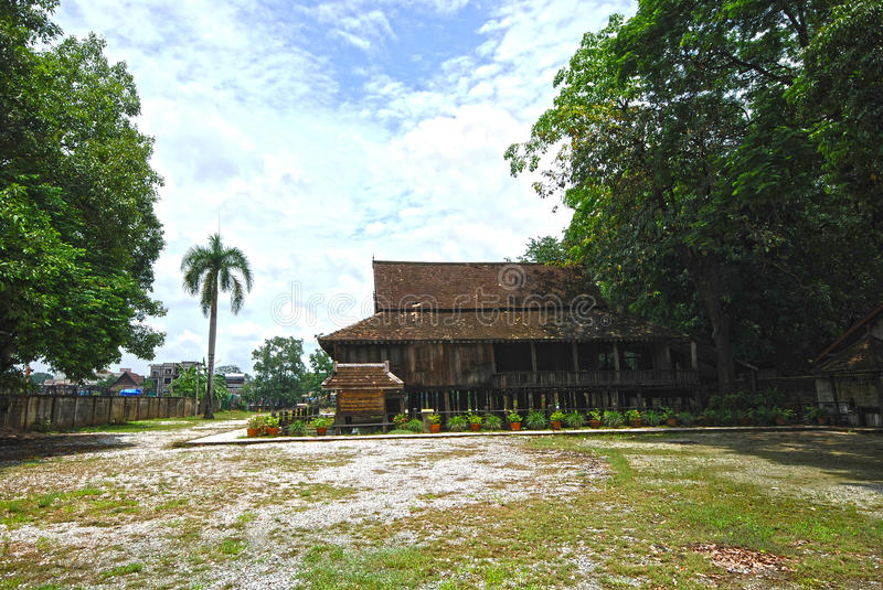 Download Thai style wooden stock photo. Image of asia, sanctuary - 20657262
