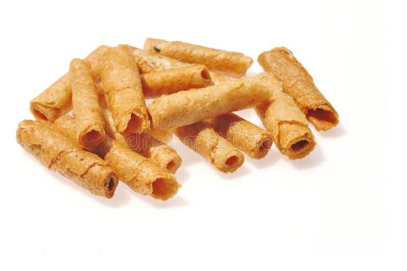 Thai sweetmeat made of flour royalty free stock image