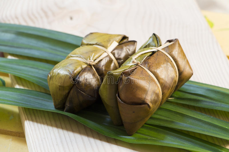 Thai sweets rice stock images