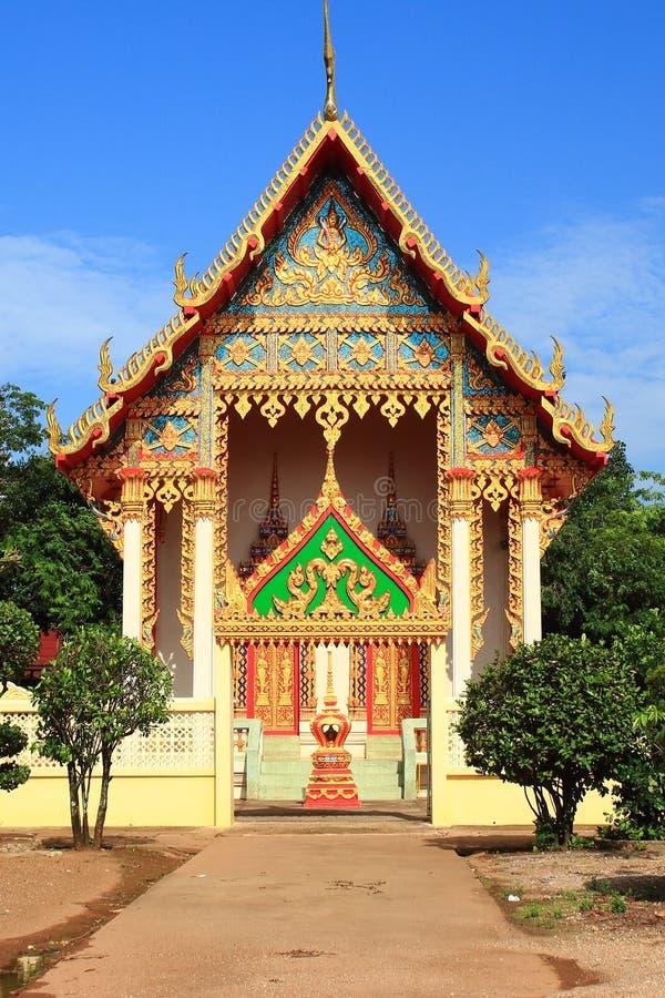 Thai tample. In thailand stock photo