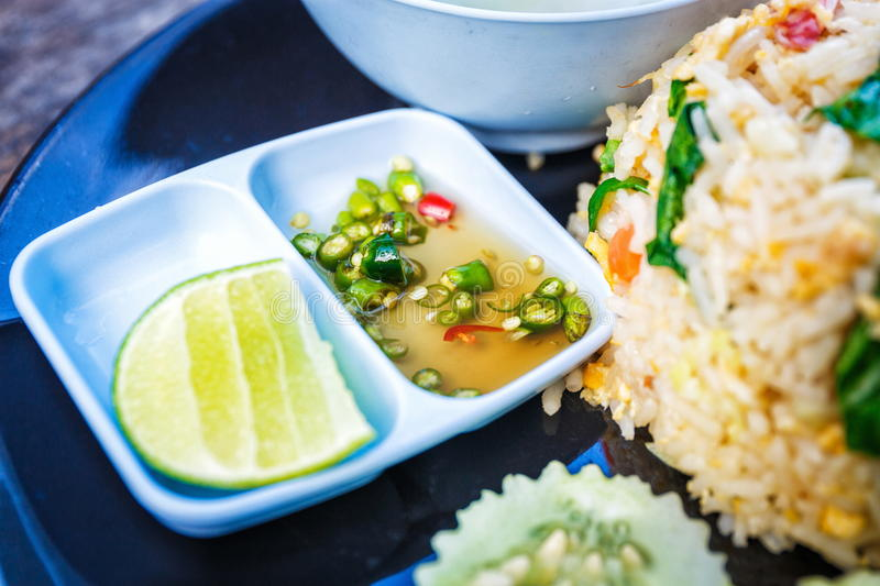 Thai tasty cuisine royalty free stock image