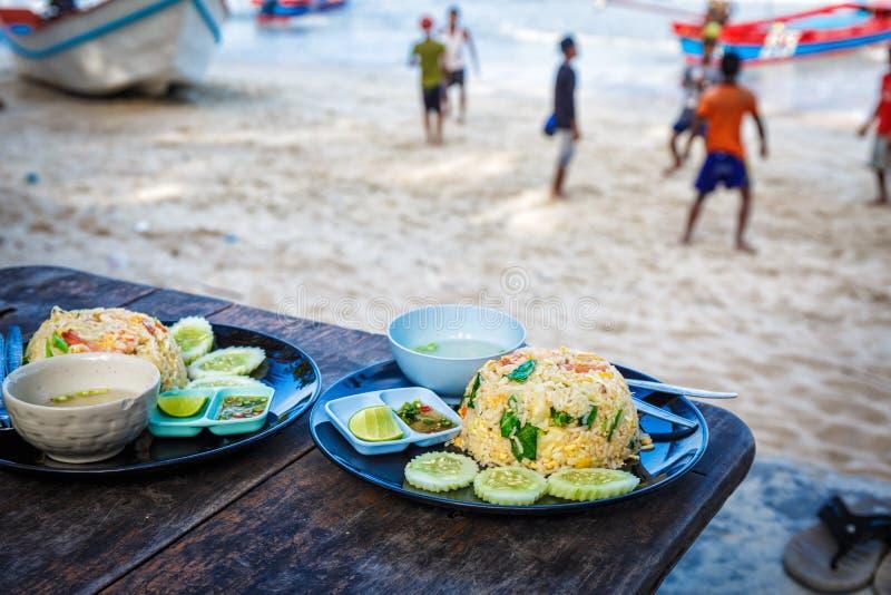 Thai tasty cuisine royalty free stock photos