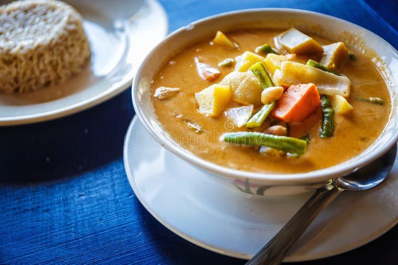 Thai tasty soup royalty free stock image