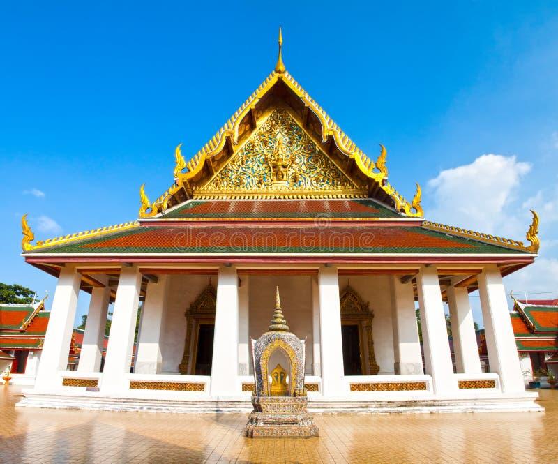 Thai temple. royalty free stock photos