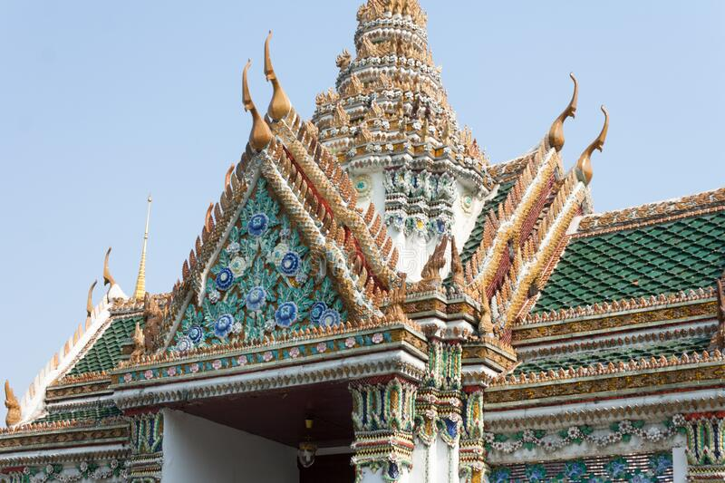 Thai temple architecture. from Bangkok, Thailand. Images for commercial user.n stock images
