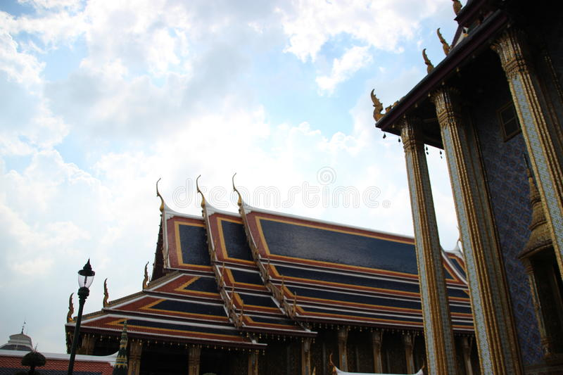 Thai temple buddhism royalty free stock images