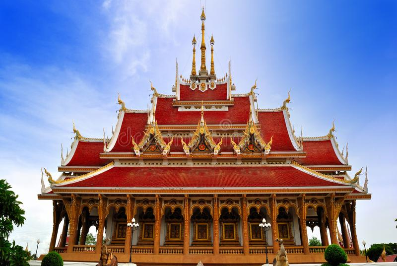 Thai Temple in  khonkane province