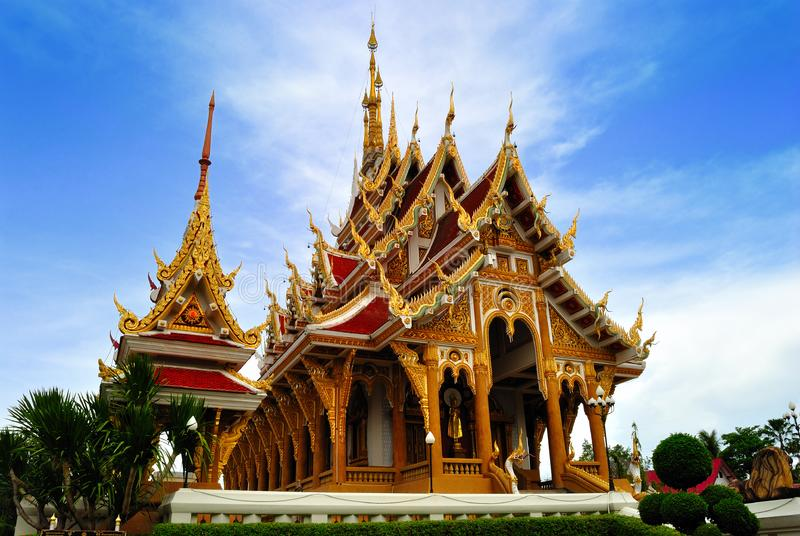Download Thai Temple In  Khonkane Province Stock Image - Image of handcraft, east: 15196591