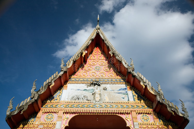 Download Thai Temple Roof Royalty Free Stock Photos - Image: 7721658