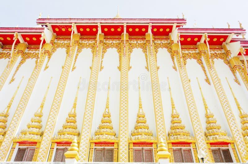 Thai temple style in Khon Kaen Thailand royalty free stock image