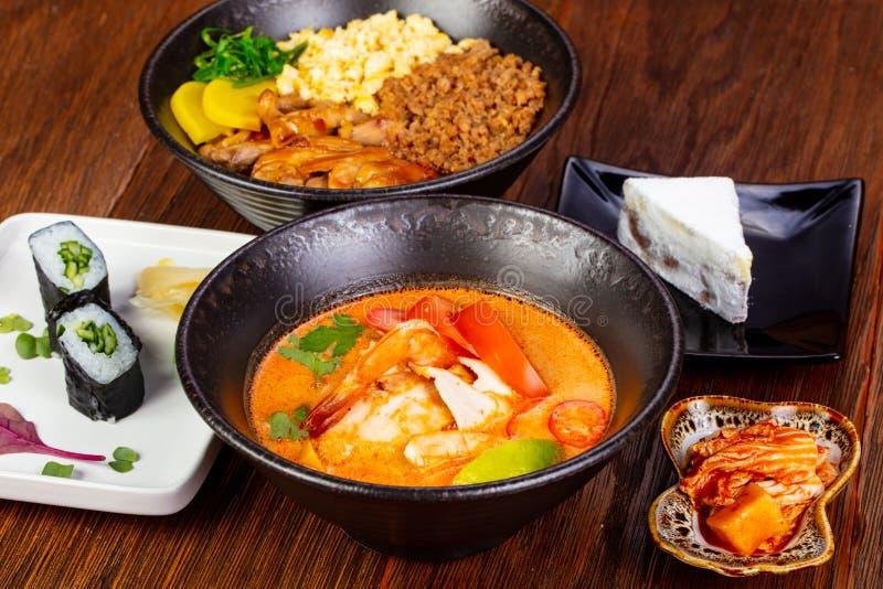 thai tom för soup sötpotatis royaltyfri bild