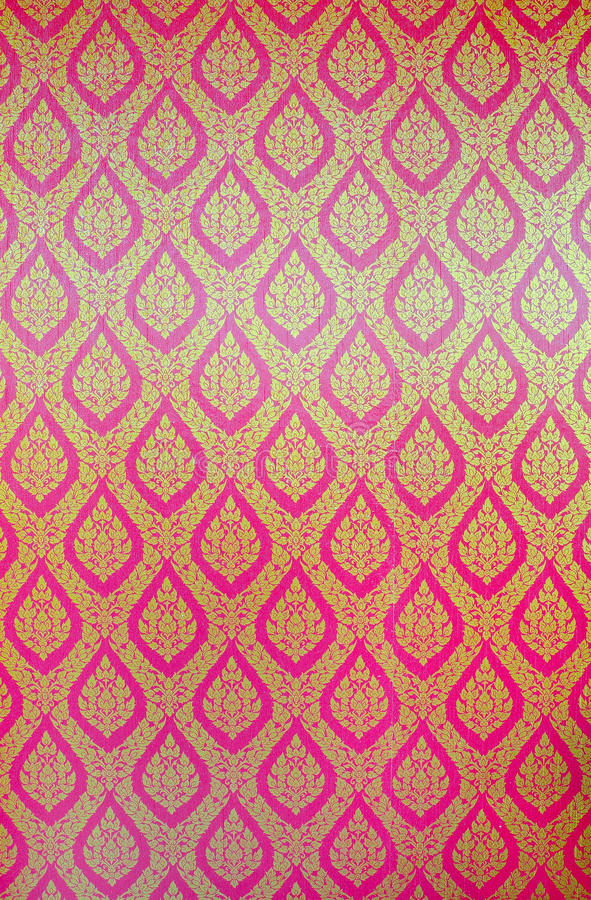 Thai traditional classic pattern royalty free stock photography
