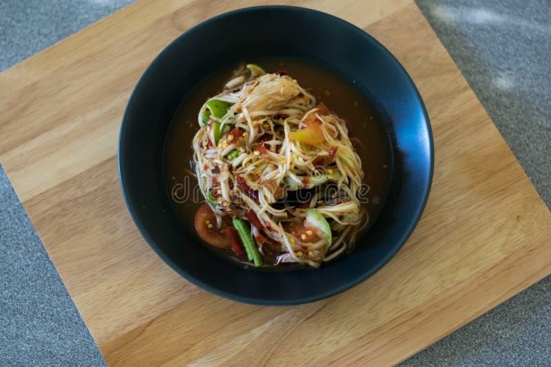 Thai traditional or Thai food stock image
