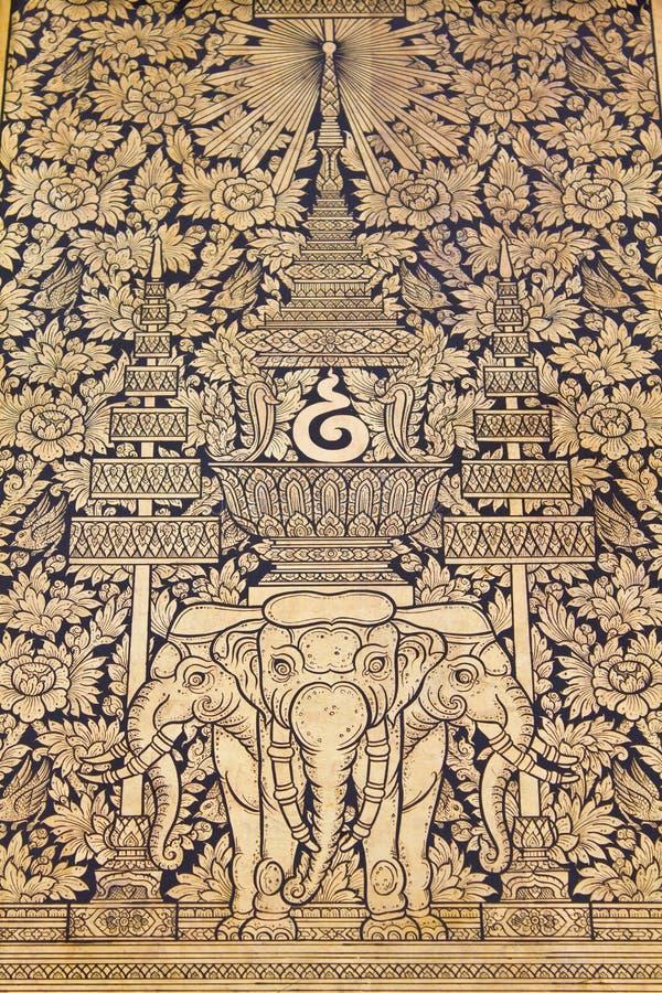 thai traditionellt för konstmålningsstil fotografering för bildbyråer