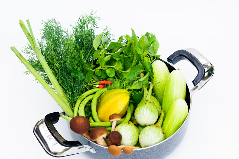 Download Thai vegetable mix stock photo. Image of foodstuff, culture - 40363656