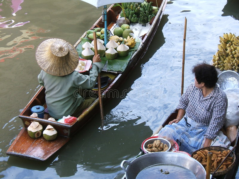 Download Thai water market stock photo. Image of little, amazing - 199848