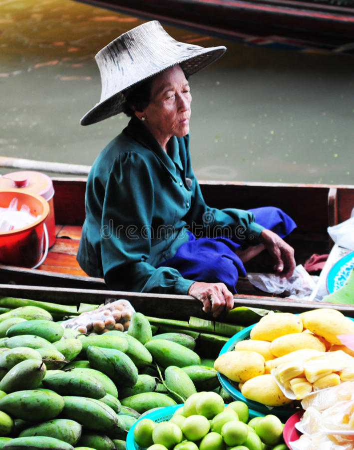 Thai Woman Editorial Image