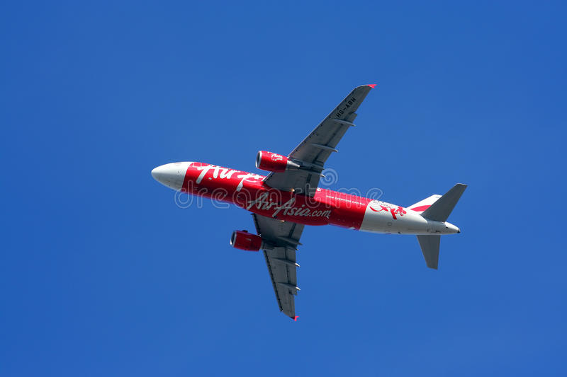 Download Thaiairasia take off editorial stock image. Image of a320 - 26798229