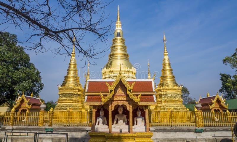 thaialnd寺庙  免版税图库摄影