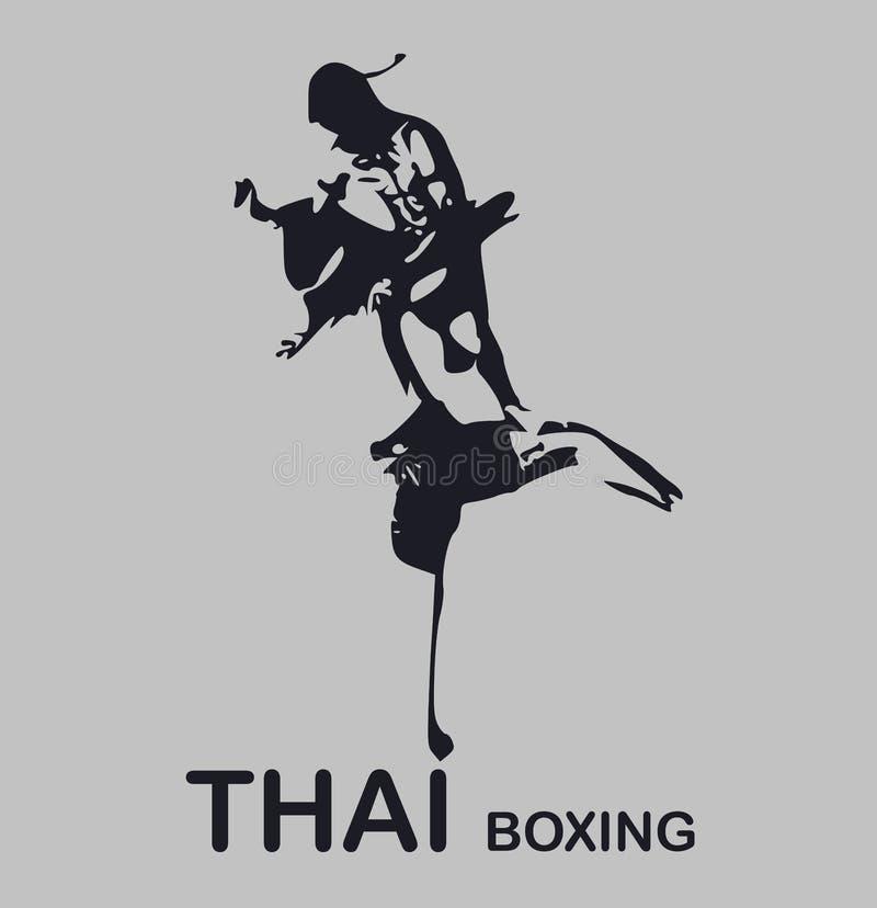 ThaiBoxing royaltyfria foton