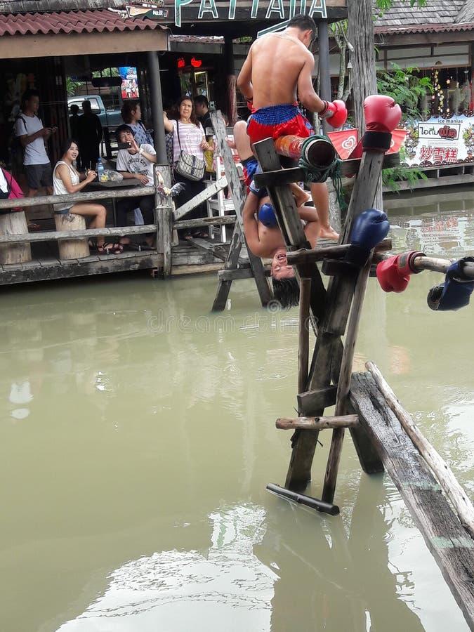 ThaiBoxing 免版税库存图片