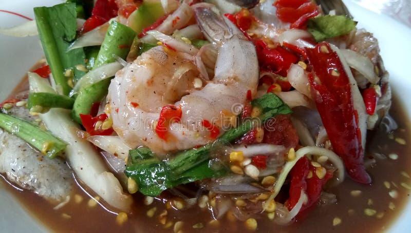 Thaifood così piccante fotografia stock libera da diritti