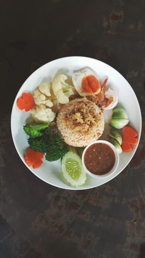 Thaifood thaistyle 免版税图库摄影